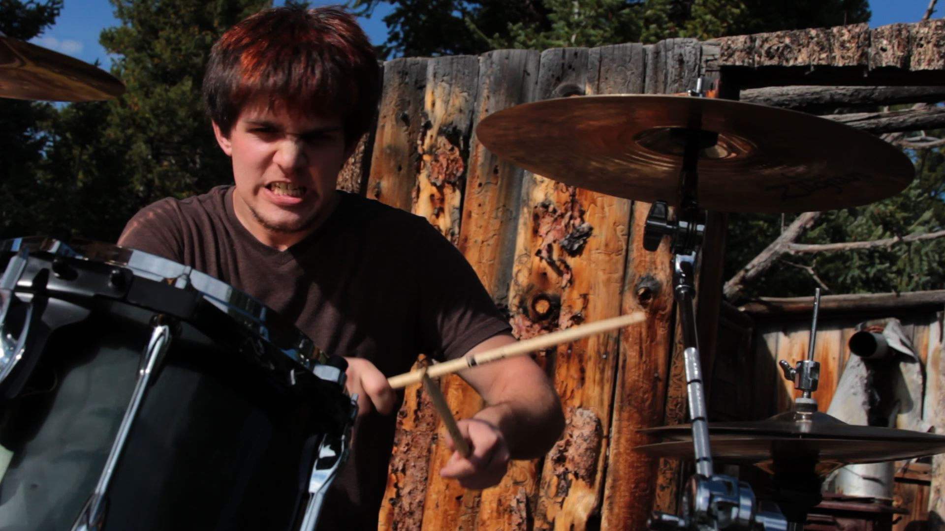 Drums Angry Face